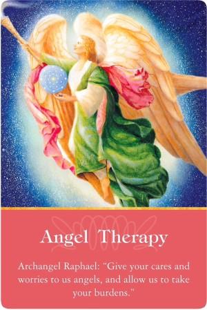 エンジェルセラピー/Angel Therapy 大天使ラファエルより 〜大天使オラクルカード