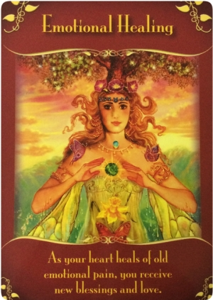 Emotional Healing from the Magical Messages from the Fairies Oracle Cards