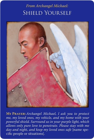 Shield Yourself from Archangel Michael Oracle Cards