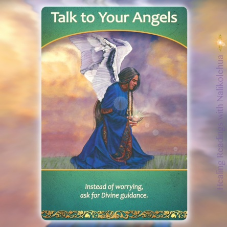 Talk to Your Angels from Life Purpose Oracle Cards