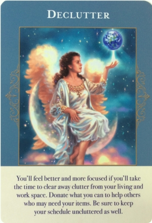 Declutter ~ Angels of Abundance Oracle Cards