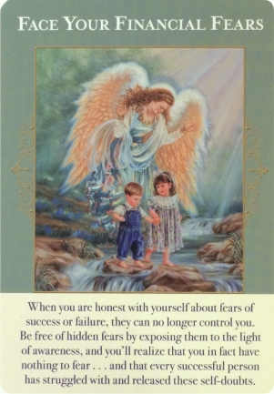 Face Your Financial Fears ~ Angels of Abundance Oracle Cards