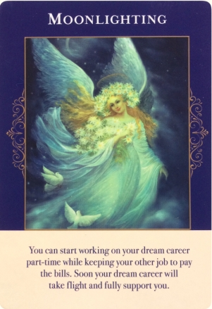 Moonlighting ~ Angels of Abundance Oracle Cards