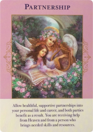 Partnership ~ Angels of Abundance Oracle Cards