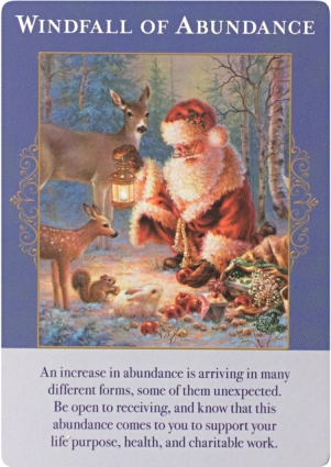 Windfall of Abundance ~ Angels of Abundance Oracle Cards