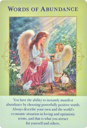 Words of Abundance ~ Angels of Abundance Oracle Cards