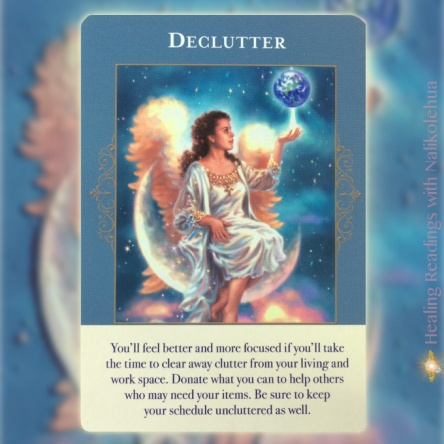 Declutter of the Angels of Abundance Oracle Cards