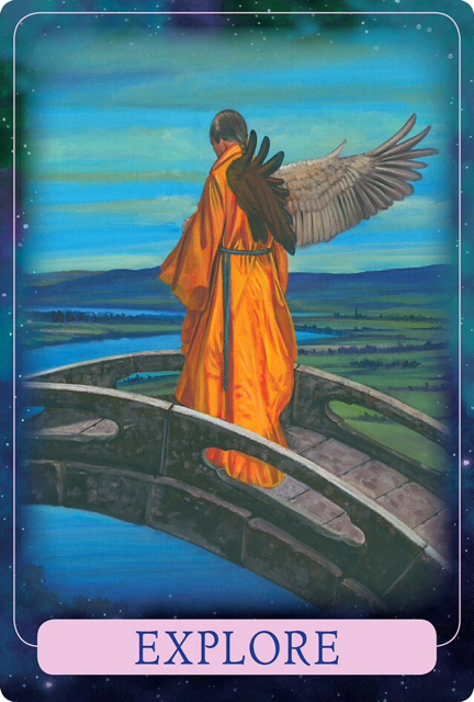 Explore from Indigo Angel Oracle Cards