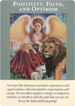 Positivity, Faith, and Optimism ~ Angels of Abundance Oracle Cards