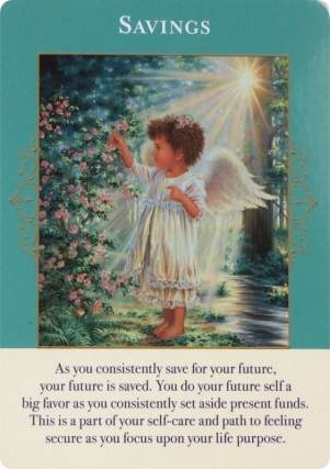 Savings ~ Angels of Abundance Oracle Cards