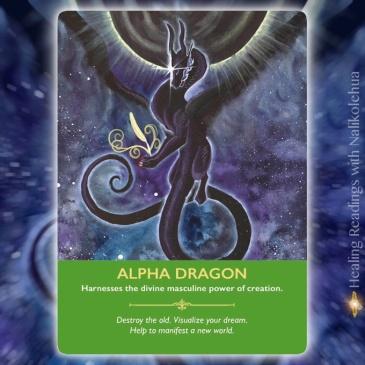 Alpha Dragon/アルファードラゴン 〜ドラゴンオラクルカードより