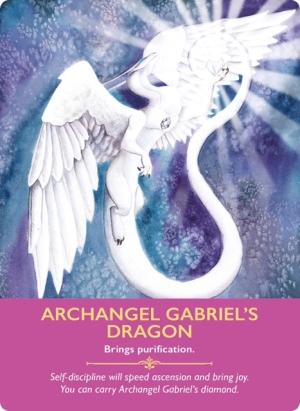 Archangel Gabriel's Dragon/大天使ガブリエルの龍 〜ドラゴンオラクルカード