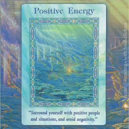 Positive Energy from Magical Mermaids and Dolphins Oracle Cards