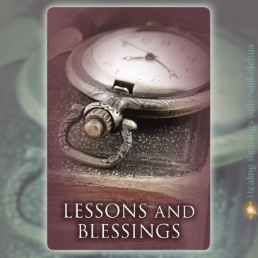 Lessons and Blessings from Past Life Oracle Cards