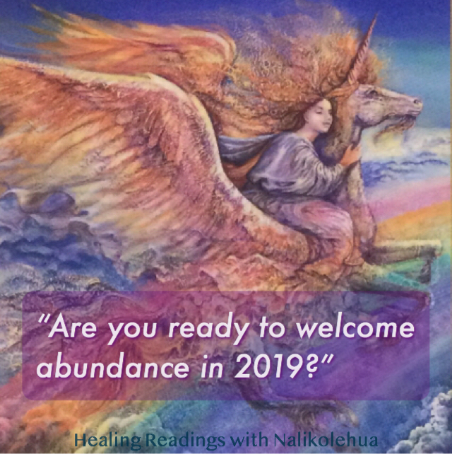 Are you ready to welcome abundance in 2019?
