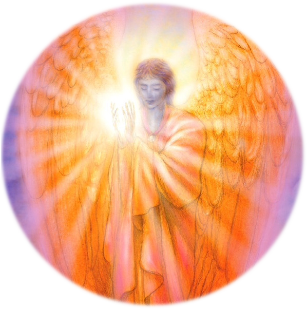 Compassion from Archangel Zadkiel of Archangel Oracle Cards