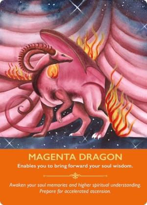 マジェンタドラゴン/Magenta dragon 〜ドラゴンオラクルカード