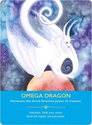 オメガドラゴン/Omega Dragon 〜ドラゴンオラクルカードより