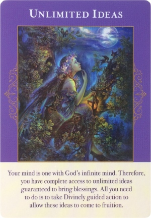 Unlimited Ideas from Angels of Abundance Oracle Cards