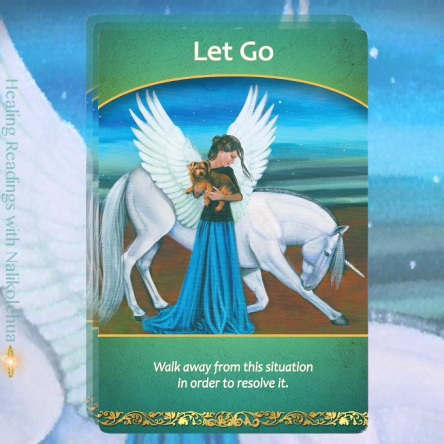 Let Go from the Life Purpose Oracle Cards
