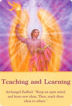 教えることと学ぶこと/Teaching and Learning 大天使ザドキエルより 〜大天使オラクルカード
