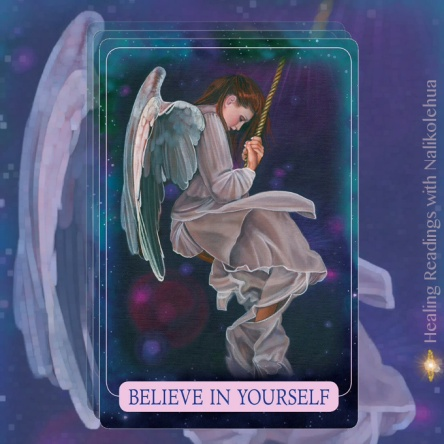 Believe In Yourself from Indigo Angel Oracle Cards