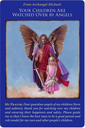 Your Children Are Watched Over by Angels from Archangel Michael Oracle Cards