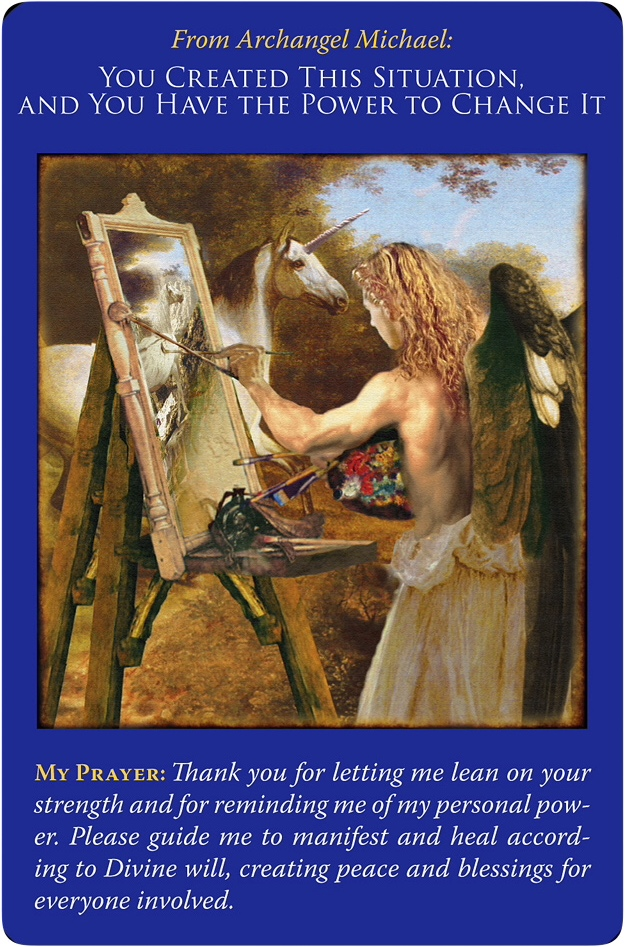 You Create This Situation, and You Have the Power to Change It from Archangel Michael