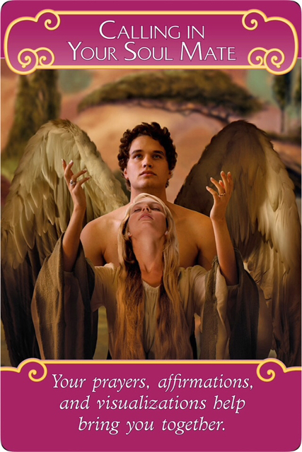 Calling In Your Soul Mate from the Romance Angel Oracle Cards