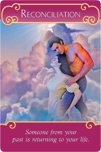 Reconciliation from the Romance Angel Oracle Cards