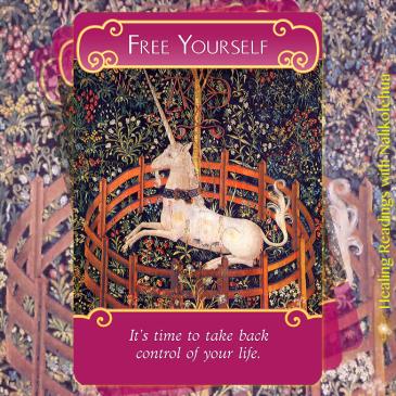 Free Yourself/自由になる 〜ロマンスエンジェルオラクルカードより