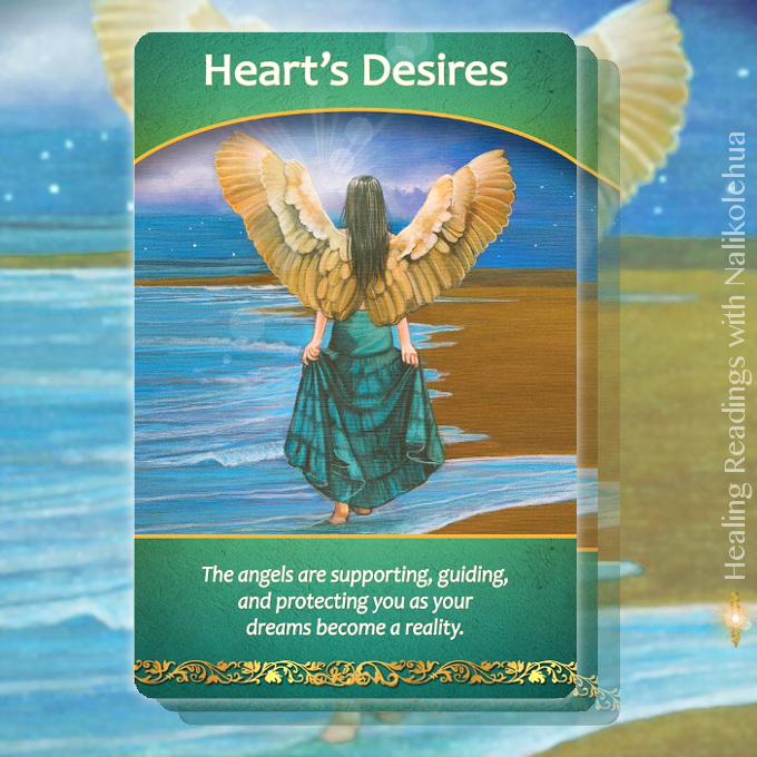 《Heart's Desires/夢》ライフパーパスオラクルカードより