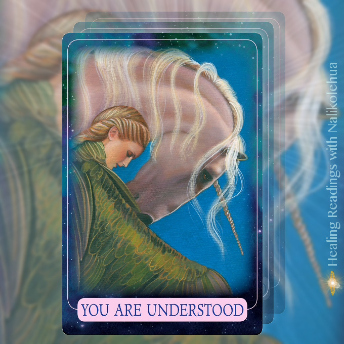 You Are Understood from the Indigo Angel Oracle Cards
