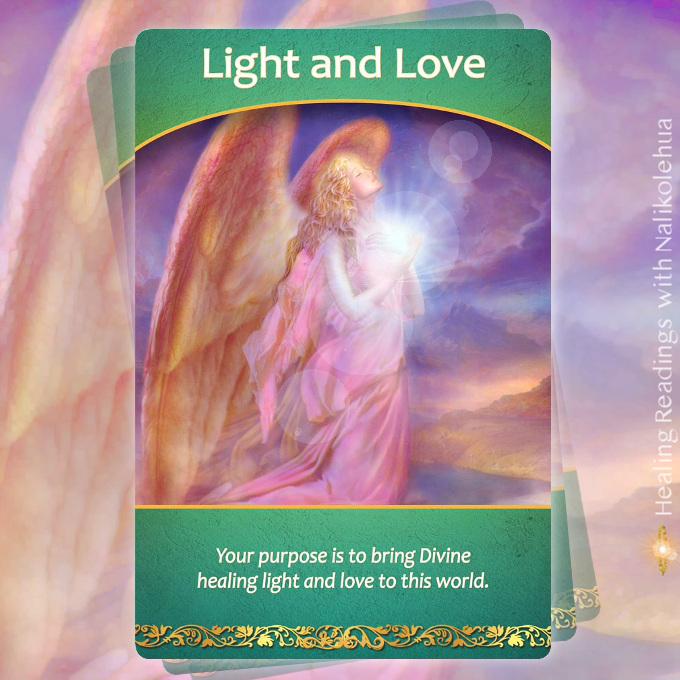 《Light and Love/光と愛》パストライフオラクルカード より