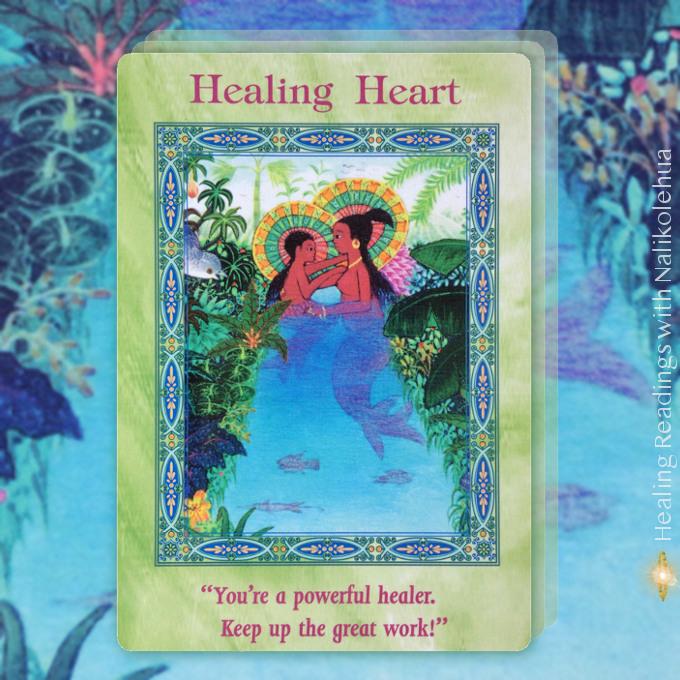 Healing Heart/癒しの心 マーメイド&ドルフィンオラクルカード より