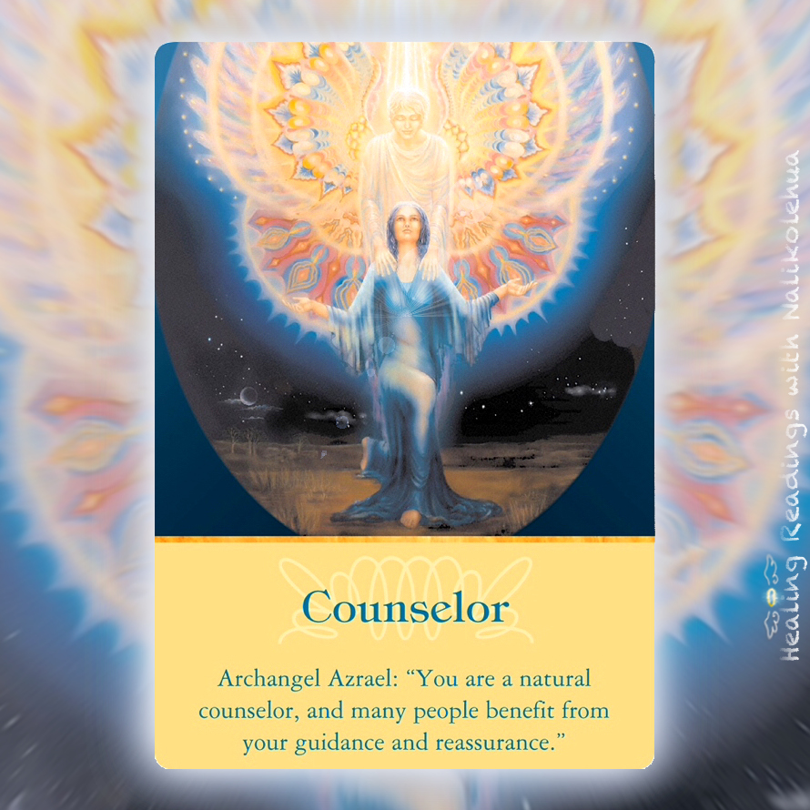 Counselor from Archangel Azrael of Archangel Oracle Cards