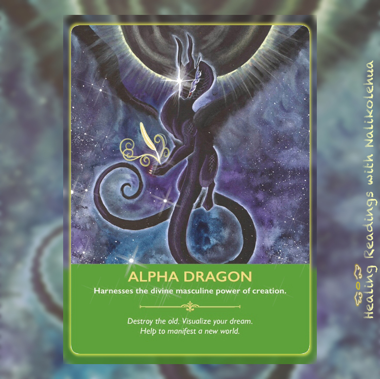 Alpha Dragon from the Dragon Oracle Cards