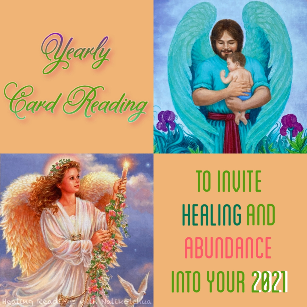 Yearly card reading to invite healing and abundance into your 2021