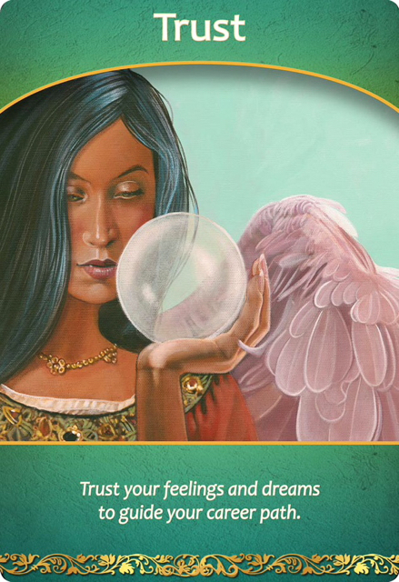 Trust (from the Life Purpose oracle cards)