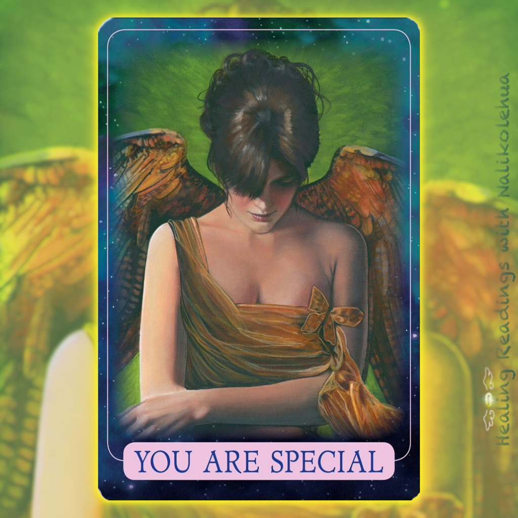 You Are Special from the Indigo Angel oracle cards