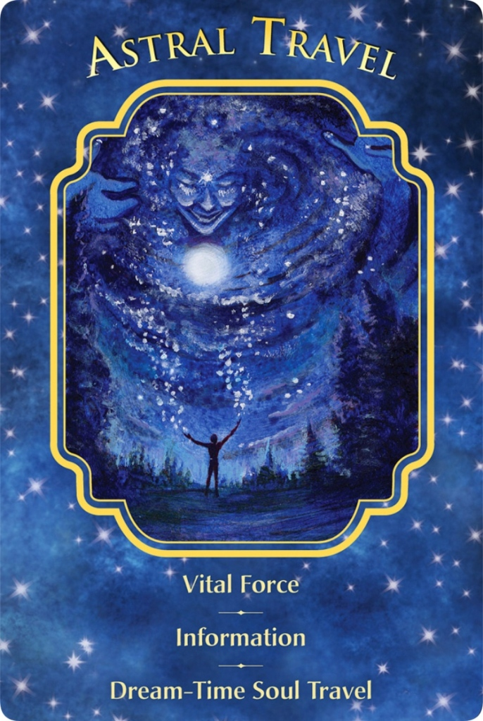 Astral Travel from the Angel Dreams oracle cards