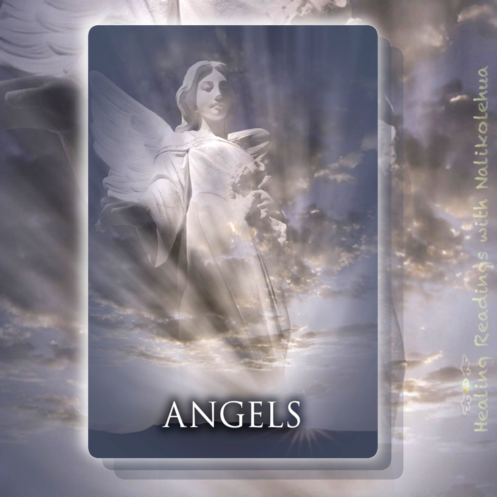 パストライフオラクルカードからの《ANGELS/天使》カード