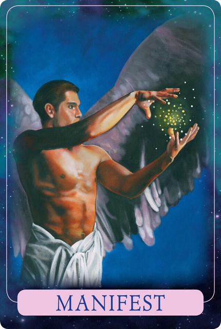 MANIFEST From Indigo Angel Oracle Cards