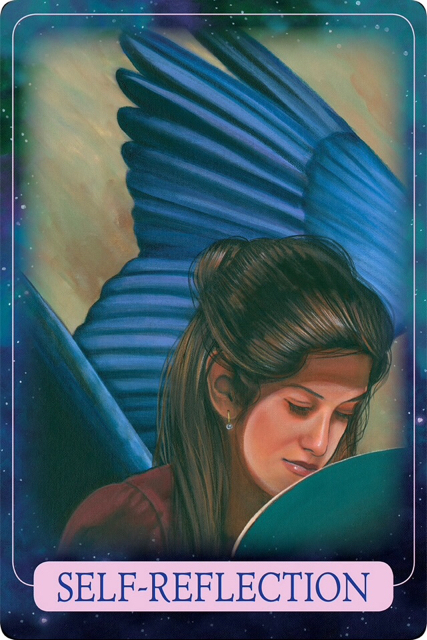 SELF-REFLECTION from Indigo Angel Oracle Cards