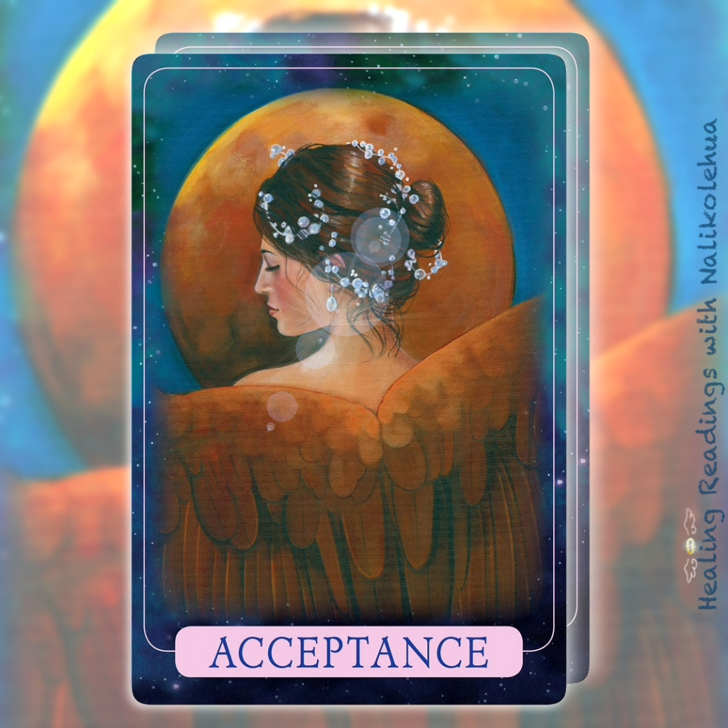 Acceptance from Indigo Angel Oracle Cards